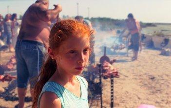 Figlia mia: Sara Casu in una scena del film
