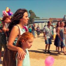 Figlia mia: Valeria Golino e Sara Casu in una scena del film