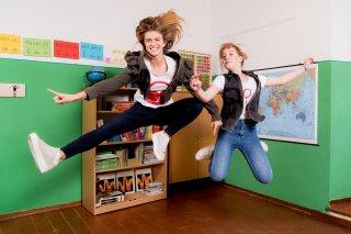Sara e Marti: una foto con Aurora Moroni e Chiara del Francia