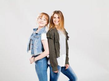 Sara e Marti: Aurora Moroni e Chiara del Francia