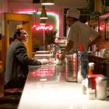 X-Files: Alex Diakun e Dan Zokovic in una scena dell'episodio L'effetto Mandela