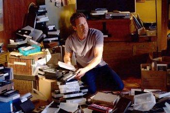 X-Files: David Duchovny in un momento dell'episodio L'effetto Mandela