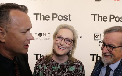 The Post: il red carpet del film di Spielberg con Meryl Streep e Tom Hanks