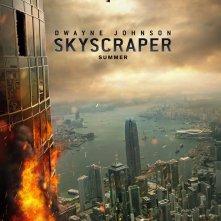 Skyscraper: il poster del film