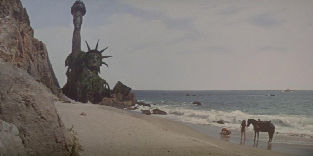 Planet Of The Apes Statue Of Liberty Blu Ray Disc Screencap Hd 1080P 05