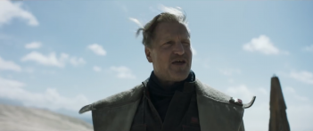 Solo: A Star Wars Story - Woody Harrelson in un'immagine del primo teaser trailer