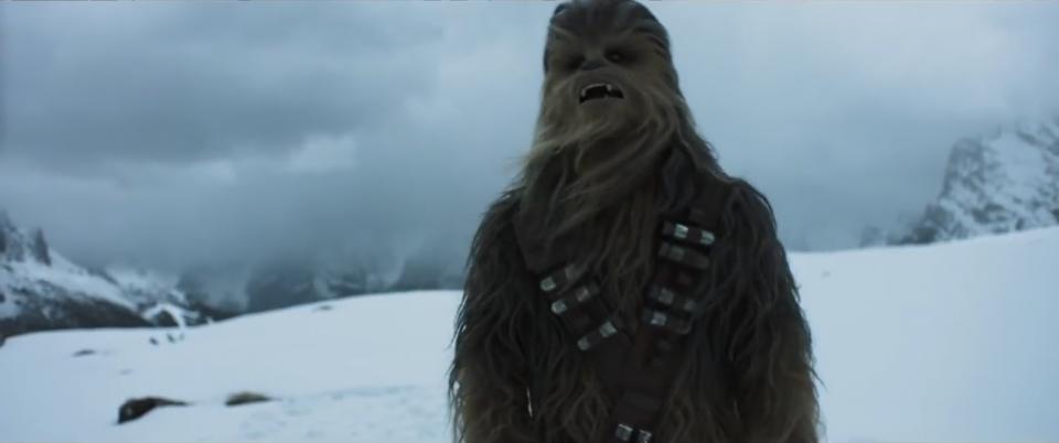 Solo: A Star Wars Story - Chewbecca in un'immagine dal primo teaser trailer