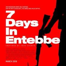 7 Days in Entebbe: la locandina internazionale