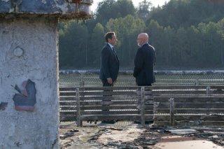 X-Files: David Duchovny e Mitch Pileggi  nell'episodio Ghouli