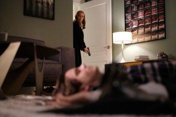 X-Files:Gillian Anderson in una scena dell'episodio Ghouli