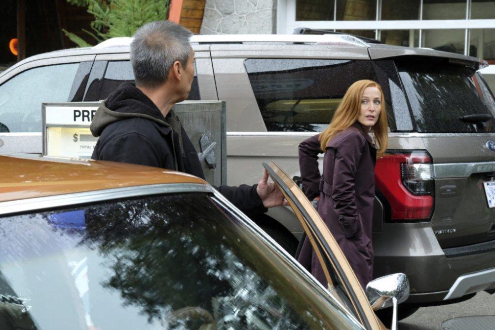 X-Files: Gillian Anderson nell'episodio Ghouli