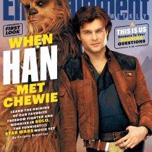 Solo: A Star Wars Story, la copertina di Entertainment Weekly