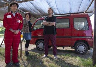 Vengo anch'io: Corrado Nuzzo, Maria Di Biase e Gabriele Dentoni in una scena del film