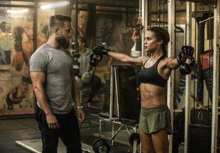 Tomb Raider: Alicia Vikander in una scena del film