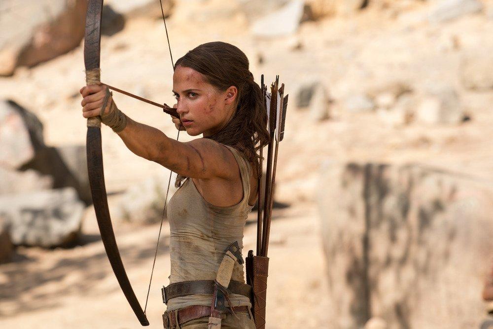 Alicia Vikander in Lara Croft