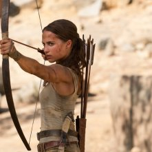 Alicia Vikander in Lara Croft