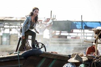 Tomb Raider: la star Alicia Vikander in una foto del film