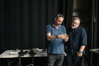 Annientamento: Alex Garland e Jeff VanderMeer sul set