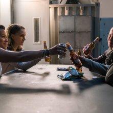 Annientamento: Natalie Portman, Tuva Novotny, Gina Rodriguez e Tessa Thompson in un momento del film