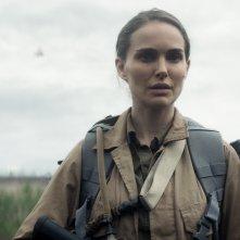 Annientamento: Natalie Portman in una scena