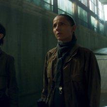 Annientamento: Natalie Portman e Tuva Novotny in una scena del film