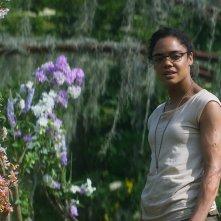 Annientamento: Tessa Thompson in una scena del film