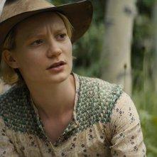Damsel: Mia Wasikowska in una scena del film