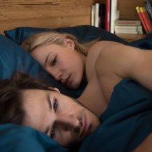 Eva: Gaspard Ulliel e Julia Roy in una scena del film
