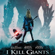 I Kill Giants: un poster del film