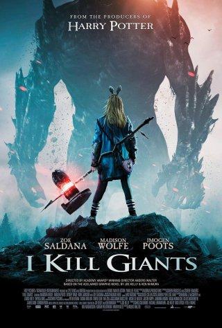 I Kill Giants: un poster del film