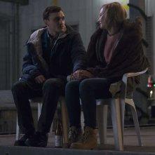 In the Aisles: Sandra Hüller e Franz Rogowski in una scena del film