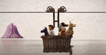 L'isola dei cani: un'immagine tratta dal film d'animazione