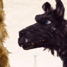 L'isola dei cani: una scena del film animato