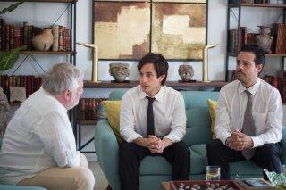 Museum: Simon Russell Beale, Gael Garcia Bernal e Leonardo Ortizgris in una scena del film