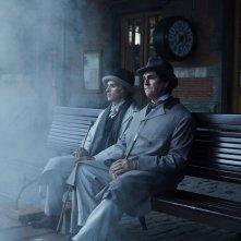 The Happy Prince: Rupert Everett e Colin Morgan in una scena del film