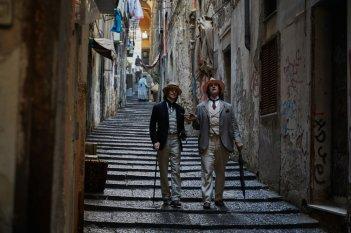 The Happy Prince: Rupert Everett e Colin Morgan in un momento del film