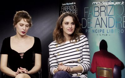 Fabrizio De André - Principe libero: intervista a Elena Radonicich e Valentina Bellè