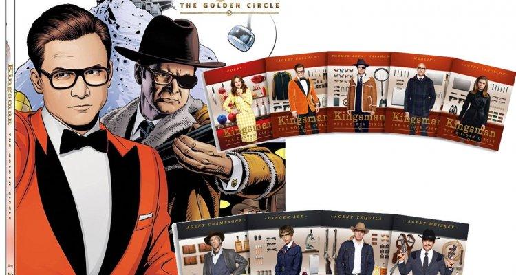 Kingsman: Il cerchio d'oro, su Amazon in esclusiva il Geek Mix con Steelbook e 9 cards da collezione