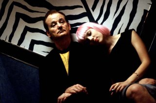 Lost in Translation - L'amore tradotto: Bill Murray e Scarlett Johansson in una scena del film