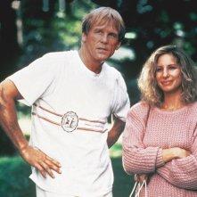 Il principe delle maree: Nick Nolte e Barbra Streisand in una scena del film