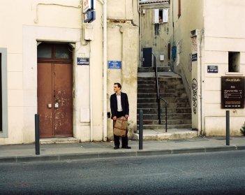 Transit: Franz Rogowski in un momento del film
