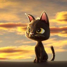 Rudolf alla ricerca della felicità: un'immagine del film animato
