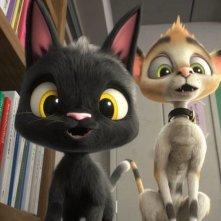 Rudolf alla ricerca della felicità: un momento del film animato