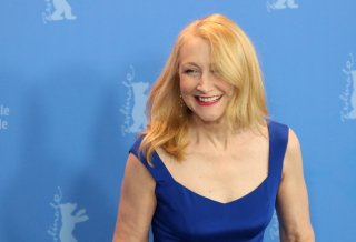Berlino 2018: uno scatto di Patricia Clarkson al photocall di The Bookshop