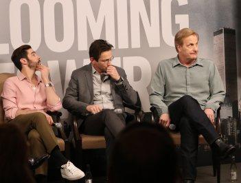 Berlino 2018: Jeff Daniels, Dan Futterman, Tahar Rahim alla conferenza di The Looming Tower