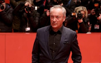 Berlino 2018: Udo Kier sul red carpet di Don't Worry, He Won't Get Far On Foot