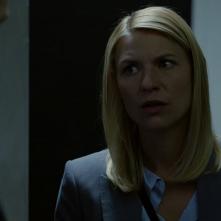 Homeland: Claire Danes in una scena dell'episodio Enemy of the State