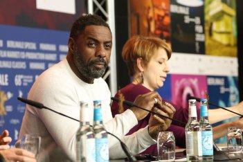 Berlino 2018: uno scatto di Idris Elba alla conferenza di Yardie