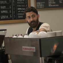 Here and Now: Andy Bean durante una scena