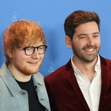 Berlino 2018: Murray Cummings, Ed Sheeran sorridenti al photocall di Songwriter